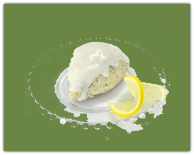 Lemon Poppyseed Scones Mix