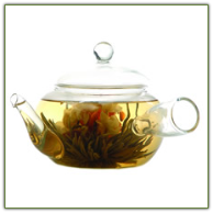 Flowering Tea Pot