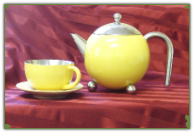 Painted Lady Teapot