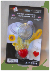 Mesh Tea Ball with fob