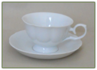 DIANA Collection Porcelain Tea Cup & Saucer Set