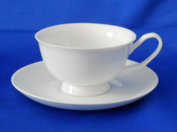 HELIOS Collection Porcelain Tea Cup & Saucer Set