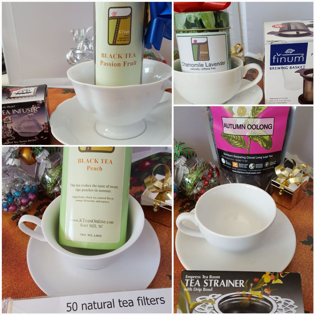 KTeas teas & tea ware & accessories make great Teacher Gifts!